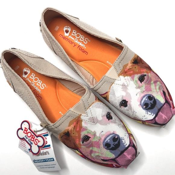 Nwt Skechers Bobs For Dogs Slip On